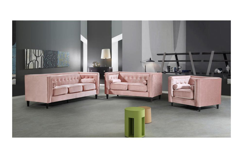 Beech Pink sofa set