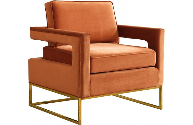 Cicely Cognac Chair