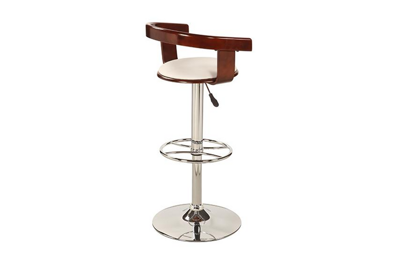 Allison Adjustable Swivel Stool White
