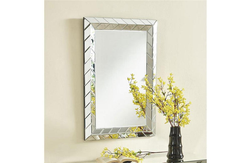 Contemporary Rectangle Wall Mirror