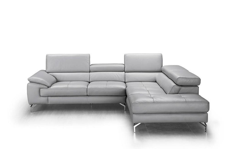 April Premium Leather Sectional Sofa