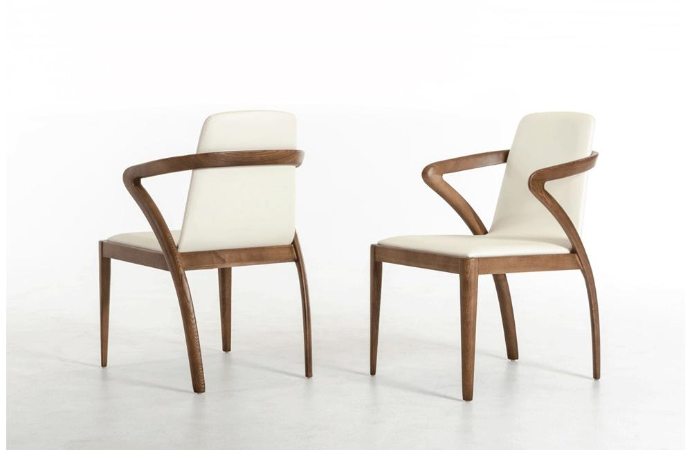 Cool Falcon Modern Walnut And Cream Dining Chair Buy Online In Ncnpc Chair Design For Home Ncnpcorg