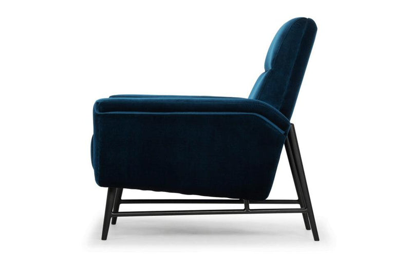 Emilien Occasional Chair Blue