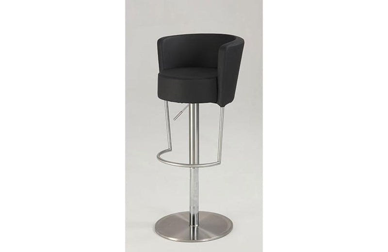 Camila Adjustable Swivel Stool Black