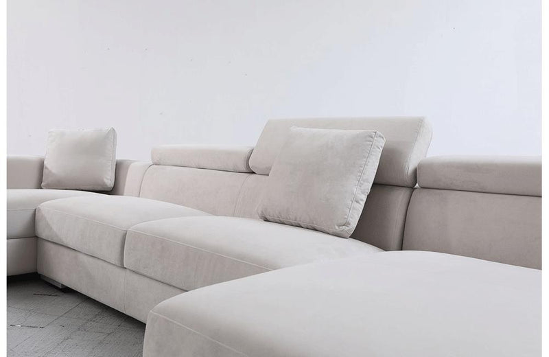 Forte Modern Modular Fabric Sectional Sofa
