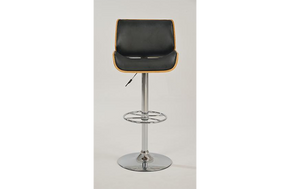Audrey Adjustable Stool Black