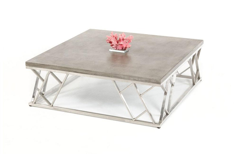 Scape Modern Concrete Coffee Table