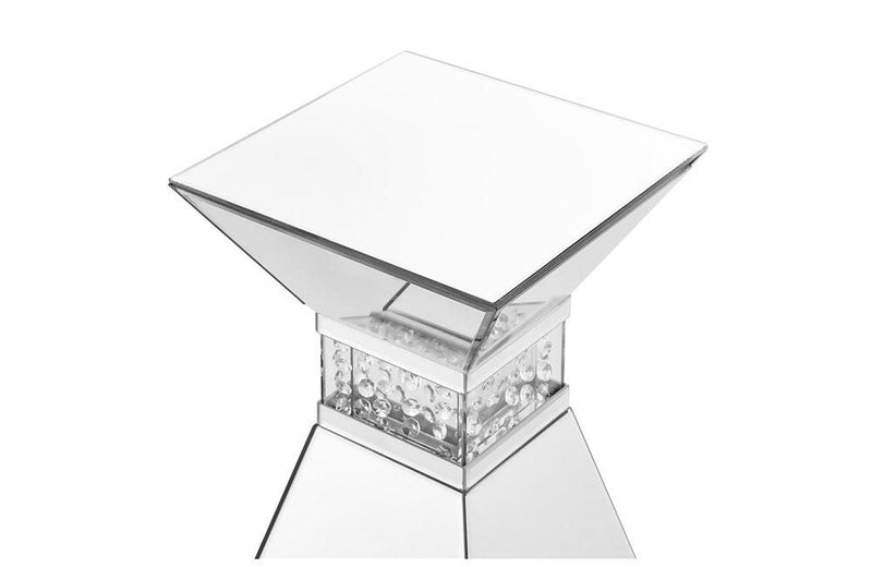 Modern Crystal End Table