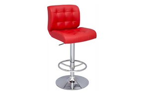 John Adjustable Stool Red