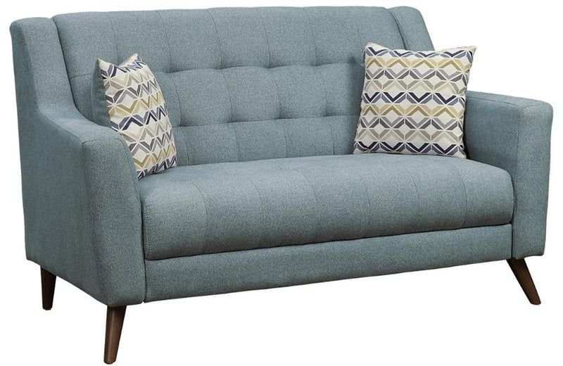 Arlene Gray Love Seat