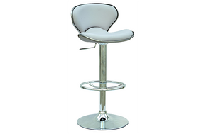 Samuel Pneumatic Swivel Stool White
