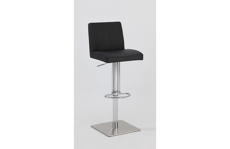 Ella Adjustable Swivel Stool Black