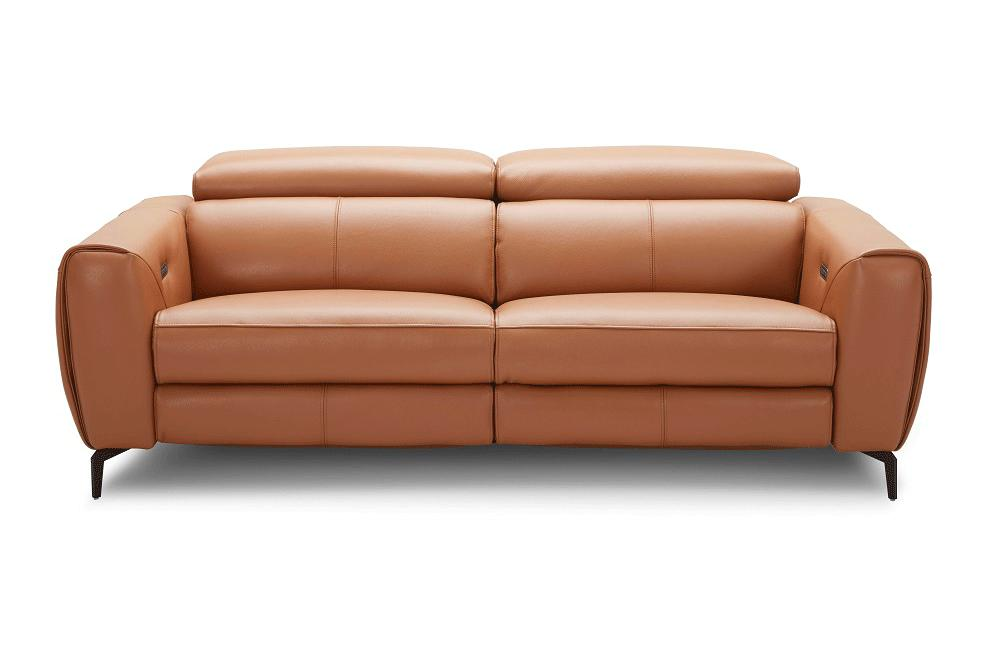 Peachy Scuzzo Recliner Sofa In Caramel Buy Online In Store Beatyapartments Chair Design Images Beatyapartmentscom