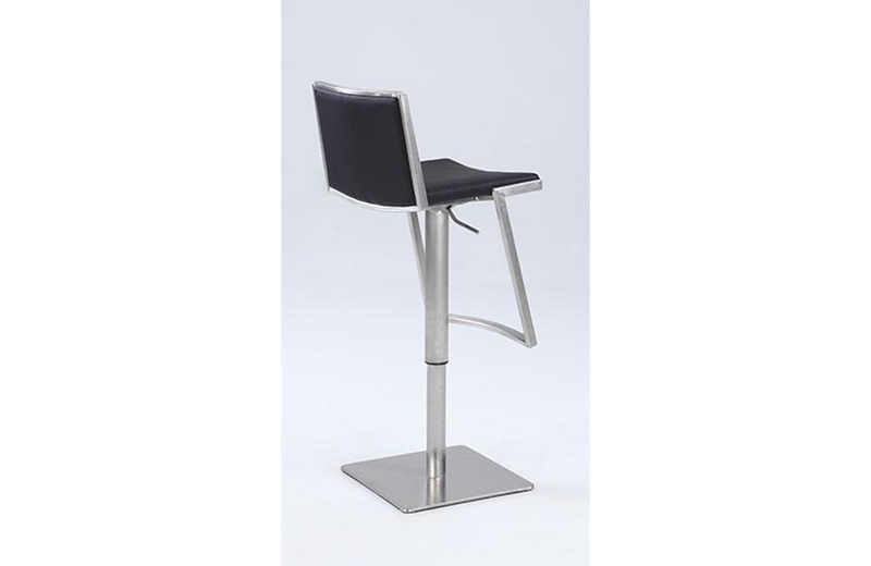 Ava Contemporary Adjustable Stool Black