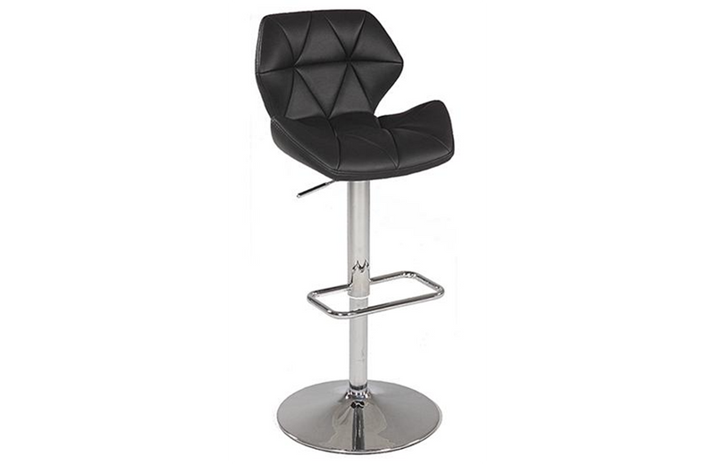 David Adjustable Stool Black