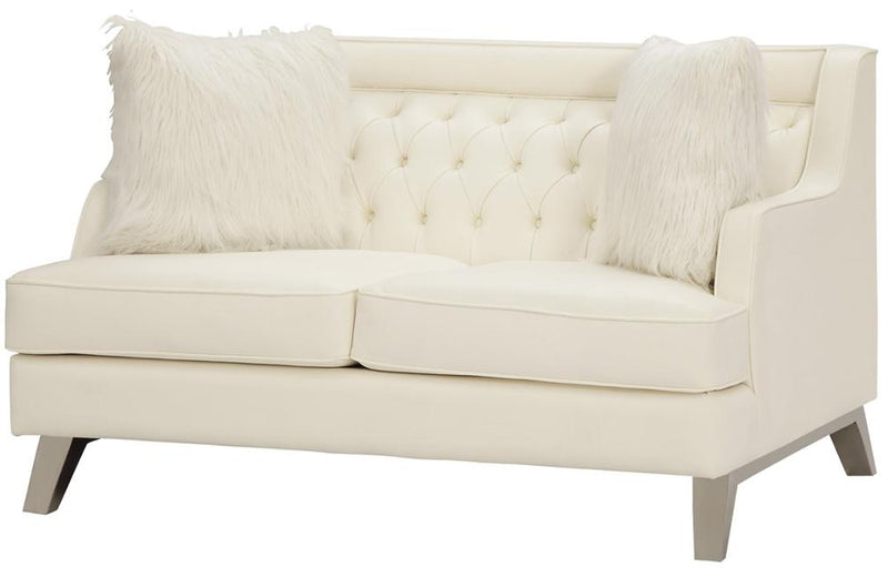 Arista Cream Love Seat