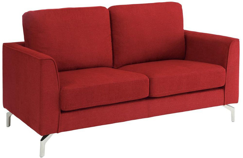 Hannah Red Love Seat