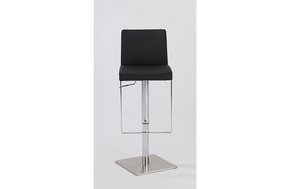 Serenity Pneumatic Swivel Stool Black