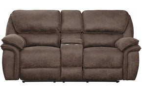 Gordon Brown Fabric Reclining Loveseat