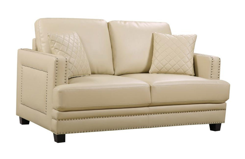 Cliff Beige Love Seat