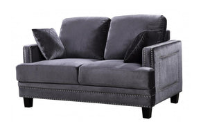 Cliff Grey Love Seat