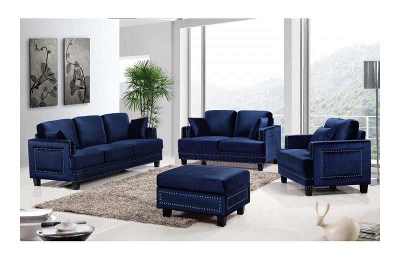 Cliff Navy sofa set
