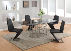Abby Modern 5 PC Dining Set