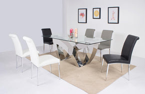 Adriano 5 Peace Dining Set