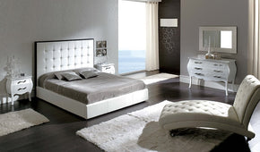 Penelope 622 White Bedroom Set
