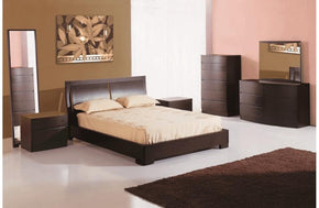 Flavian Bed Dark Brown