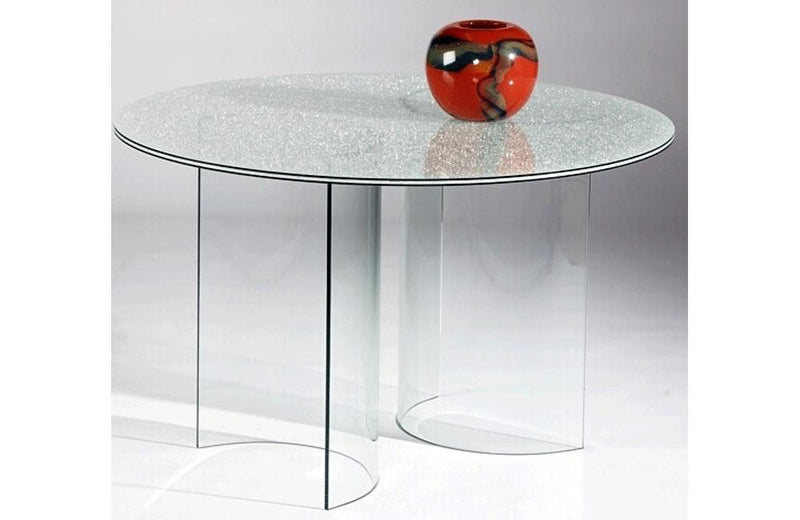 Casa Eleganza C-Base Crackled Table