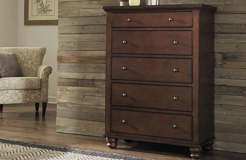 Cambridge Chest Brown Cherry