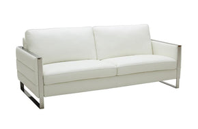 Marvin Modern Sofa in White