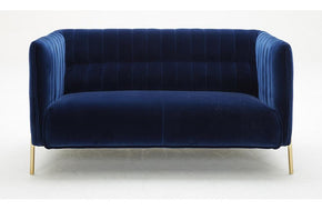 Joss Blue Loveseat