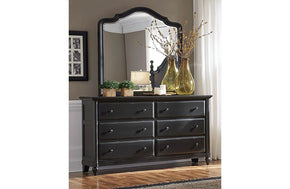Retreat Six Drawer Dresser Shade
