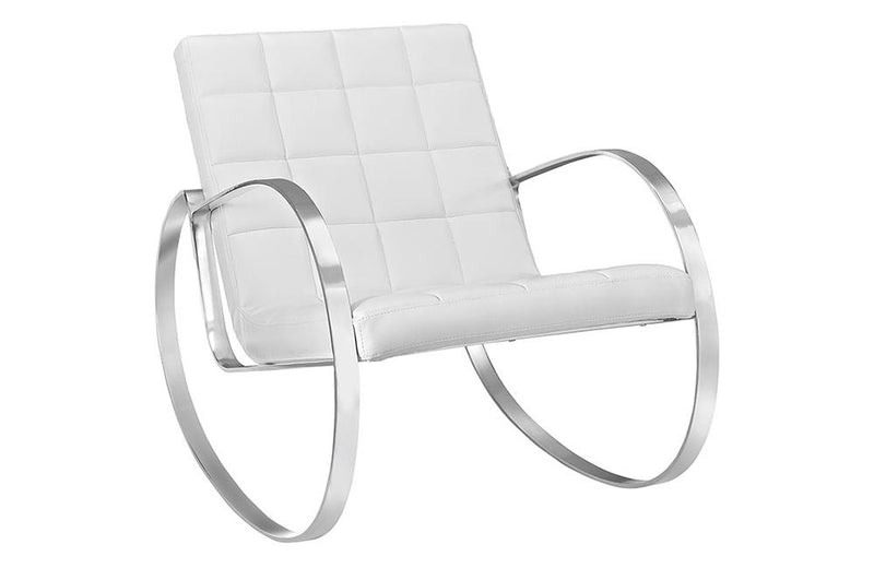Ana Upholsterd Vinyl Lounge Chair