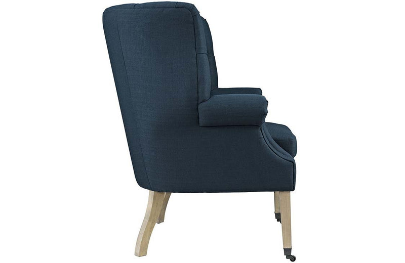 Kathryn Upholsterd Fabric Lounge Chair