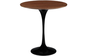 "Jaylen 20"" Wood Side Table in Black"
