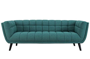 Jacqueline Modern Bestow Upholstered Fabric Sofa