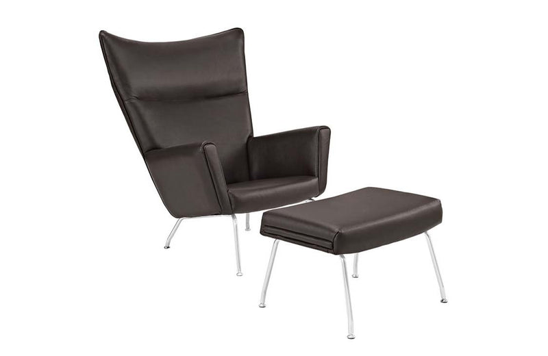 Erin Leather Lounge Chair