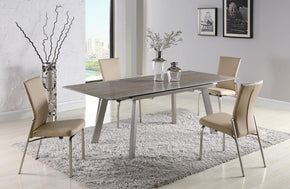 Santino Dining Table and 4 Berta Chairs