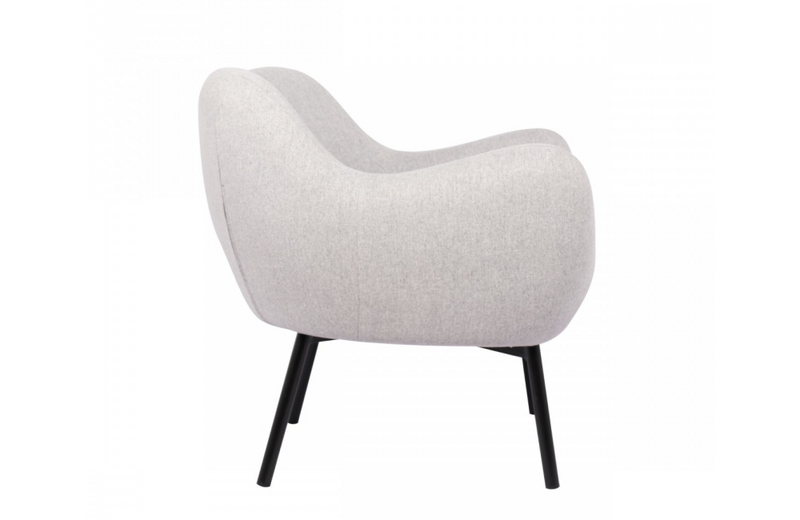 Memphis - Modern Grey Fabric Accent Chair
