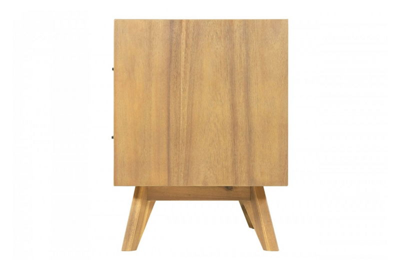 Clariss - Contemporary Walnut NIghtstand