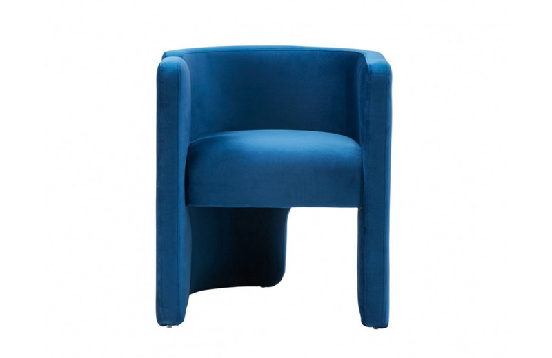 Tucson Modern Blue Accent Chair