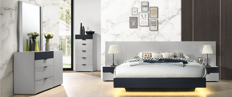 Domenica Bedroom white