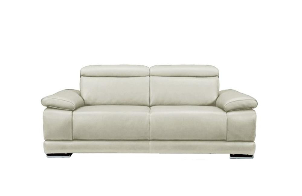 Grace Modern Leather Reclining Sofa