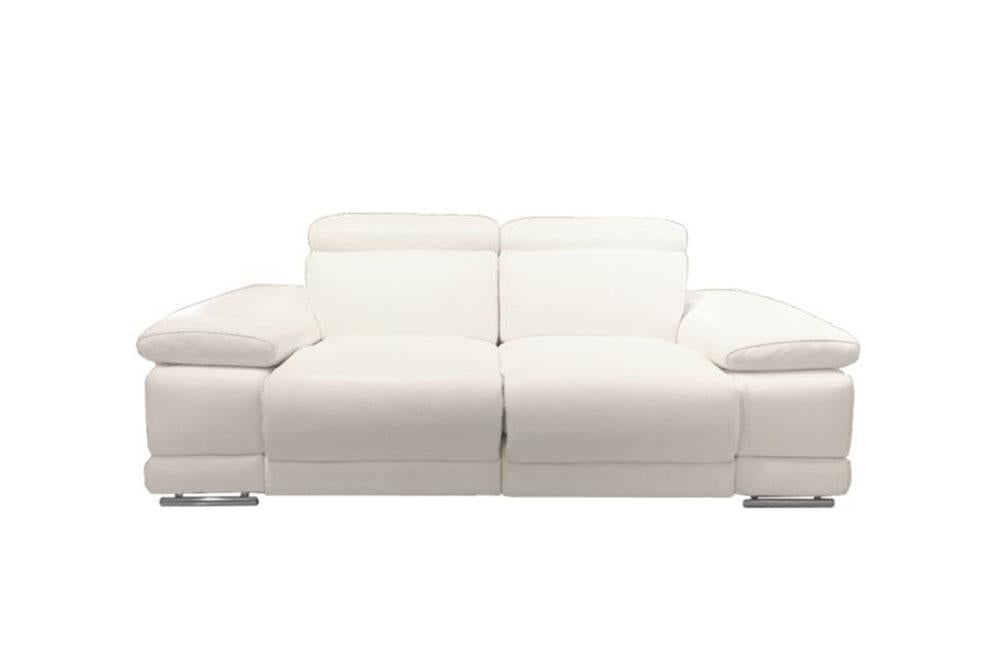 Grace Modern Leather Reclining Sofa Buy Online in Store ...