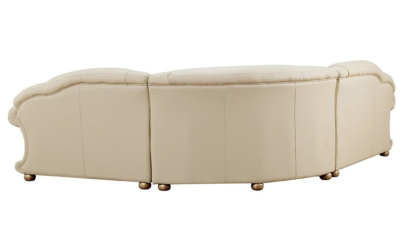 Apolo Ivory Sectional Sofa