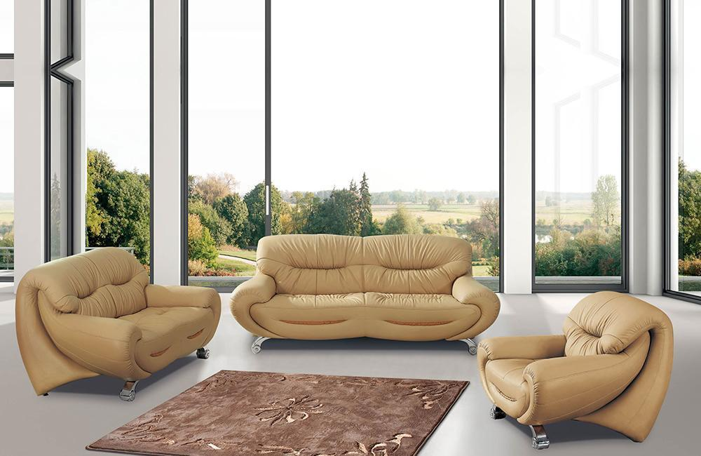 Swell Keira Modern Leather Sofa Set Buy Online In Store Machost Co Dining Chair Design Ideas Machostcouk