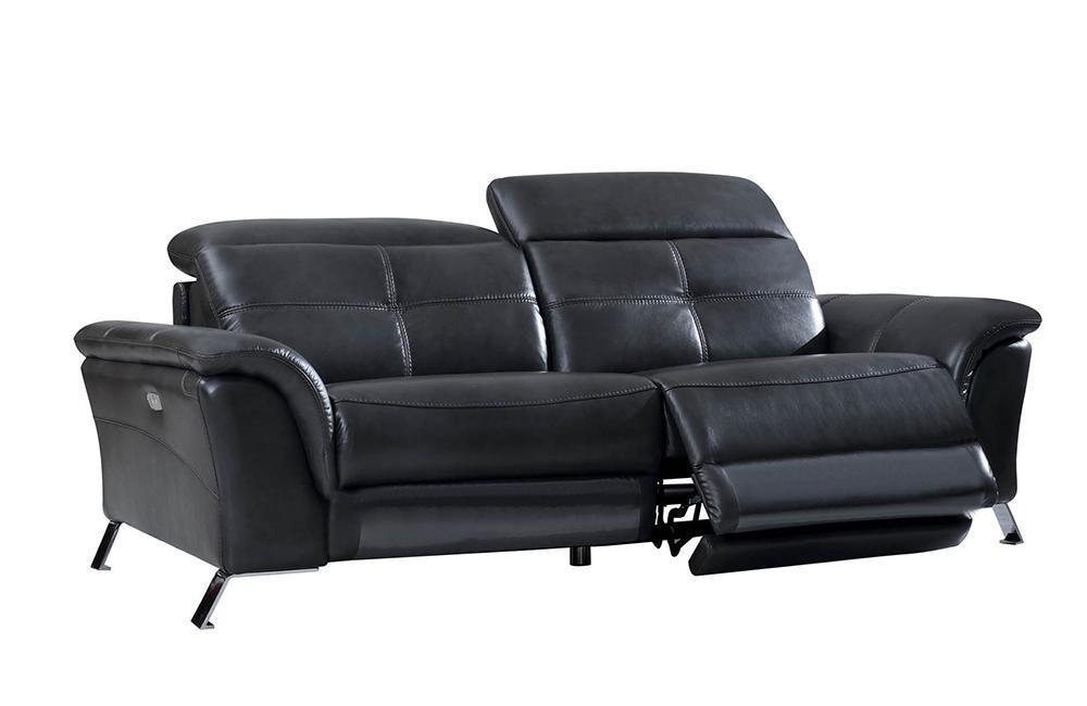 Delilah Modern Recliner Leather Sofa Set - Paramus Mega Furniture